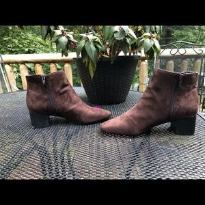 Kelly & Katie Brown Suede Boots- Size 8, NWOT